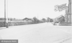 Fylde Rugby Club, Blackpool Road c.1955, Ansdell