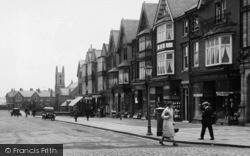 Ansdell, Shops On Woodlands Road 1923