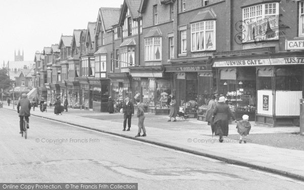 Photo of Ansdell, Shops On Woodlands Road 1923