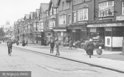 Shops On Woodlands Road 1923, Ansdell