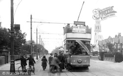 Tram In Clifton Drive 1923, Ansdell