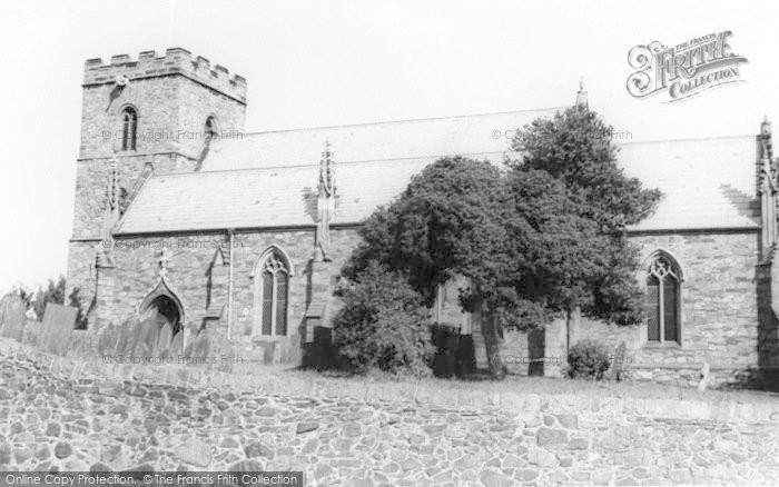 Photo of Anstey, The Church c.1965