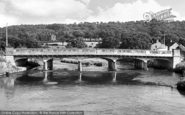 Apperley Bridge, the New Bridge c1955