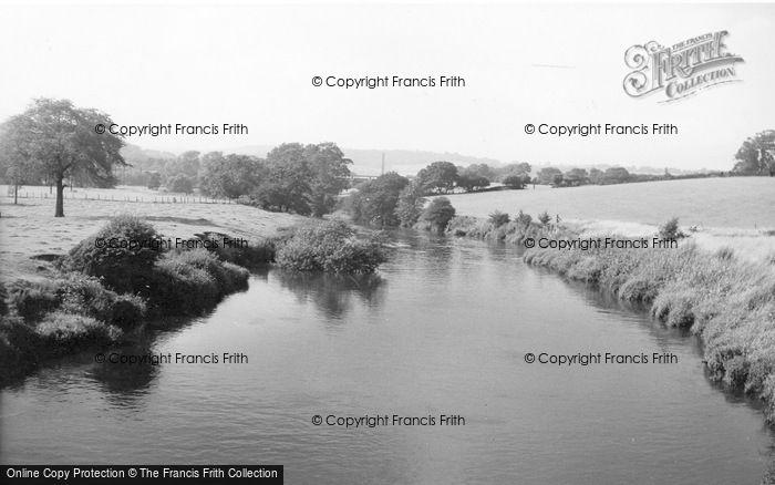 Photo of Apperley Bridge, The River c.1955