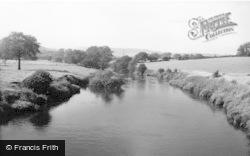 Apperley Bridge, The River c.1955
