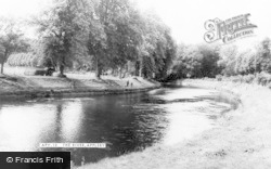 Appleby, The River c.1965, Appleby-In-Westmorland