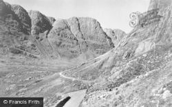 Applecross, Entrance To The Pass Of The Cattle, Tornapress Hill c.1930