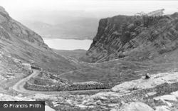 Applecross, The Pass Of The Cattle, View From The Summit Of  Tornapress Hill c.1930