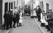 Appledore, A Busy Street 1906