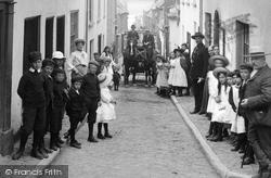 Appledore, A Busy Street 1906