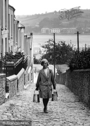 Alpha Place, Girl Carrying The Milk 1930, Appledore