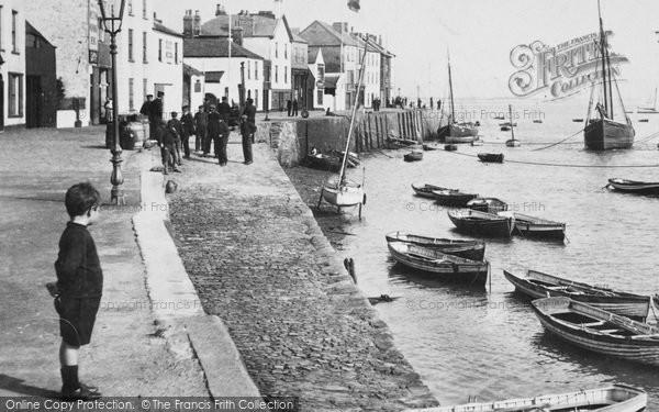 Photo of Appledore, Boy On The Quay 1907