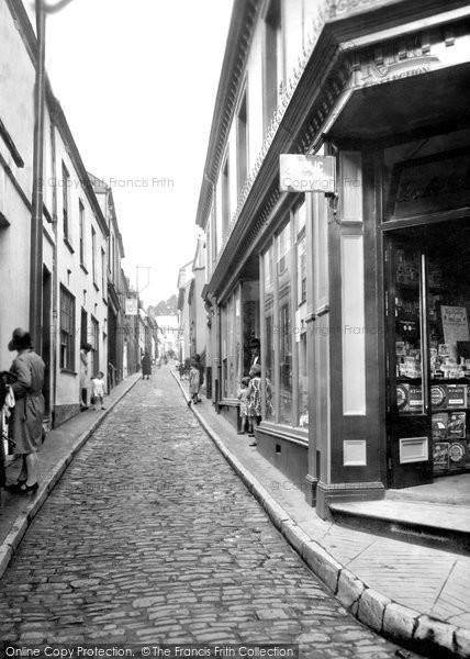 Photo of Appledore, Bude Street 1930