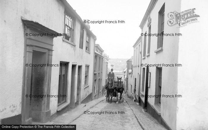 Photo of Appledore, Bude Street c.1890