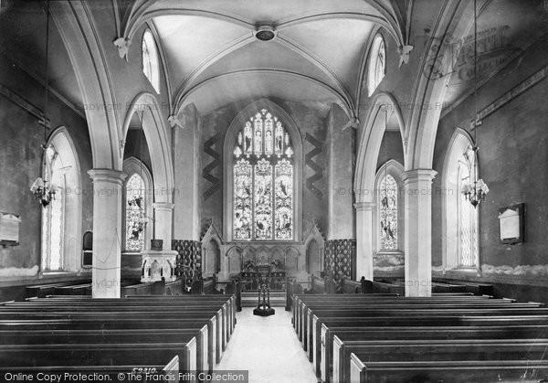 Photo of Appledore, Church Interior 1907