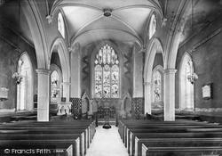 Appledore, Church Interior 1907