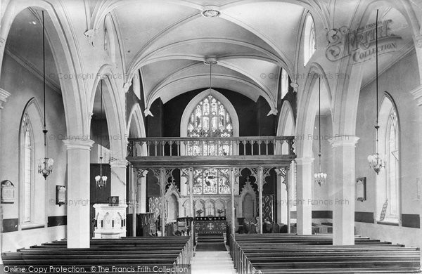 Appledore, Church Interior 1912