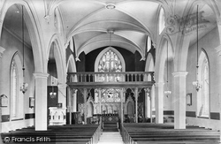 Appledore, Church Interior 1912