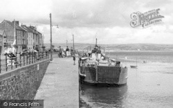 Ferry At The Quay c.1955, Appledore