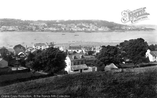 Appledore, From Instow 1907