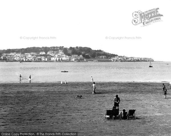 Photo of Appledore, From Instow 1936