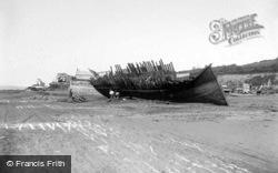 Old Boat Being Broken Up c.1890, Appledore