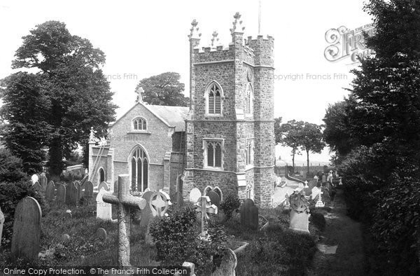 Photo of Appledore, St Mary's Church 1912