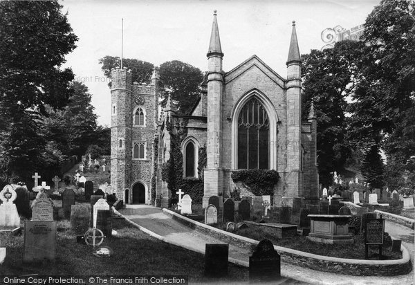 Photo of Appledore, St Mary's Church 1912