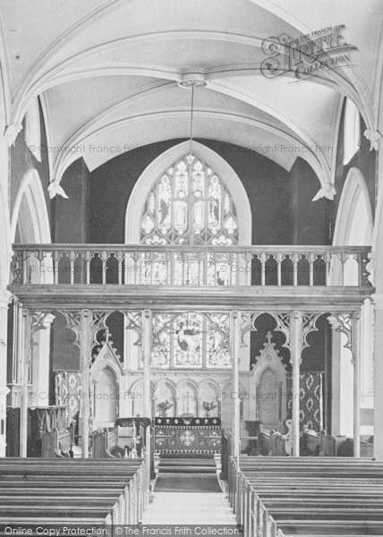 Photo of Appledore, St Mary's Church, Rood Screen 1912