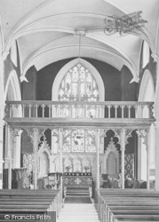 Appledore, St Mary's Church, Rood Screen 1912