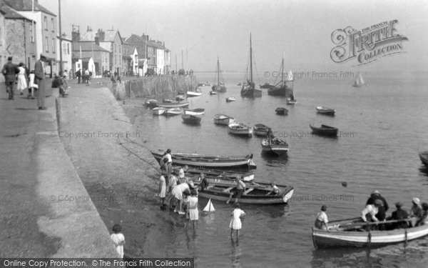 Photo of Appledore, The Harbour 1933