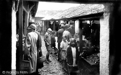 Appledore, The Market 1930