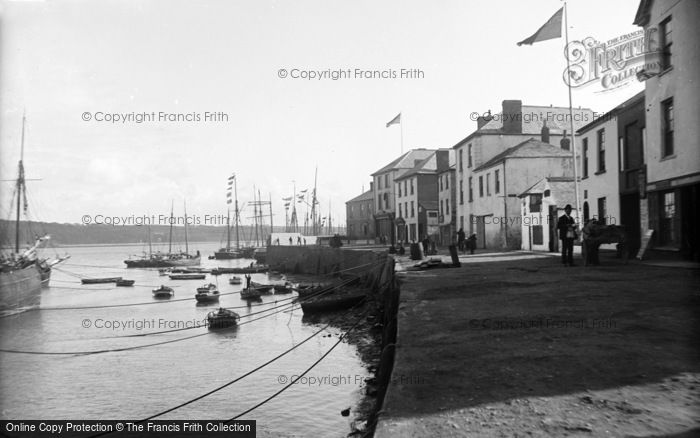Photo of Appledore, The Quay c.1890