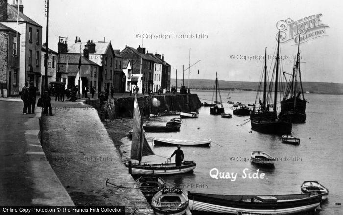 Photo of Appledore, The Quayside c.1930