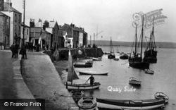 The Quayside c.1930, Appledore