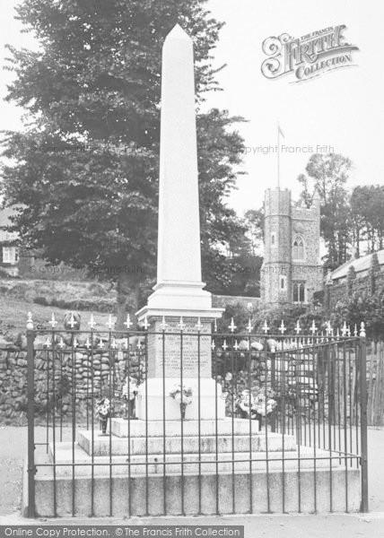 Photo of Appledore, War Memorial 1923