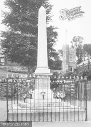 Appledore, War Memorial 1923