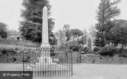 War Memorial And St Mary's Church 1923, Appledore