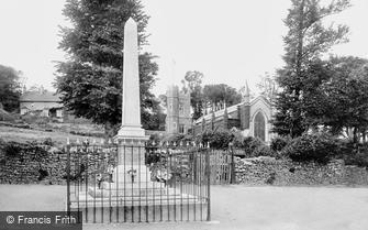 Appledore, War Memorial and St Mary's Church 1923