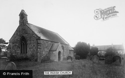 Appleton Wiske, The Parish Church c.1955
