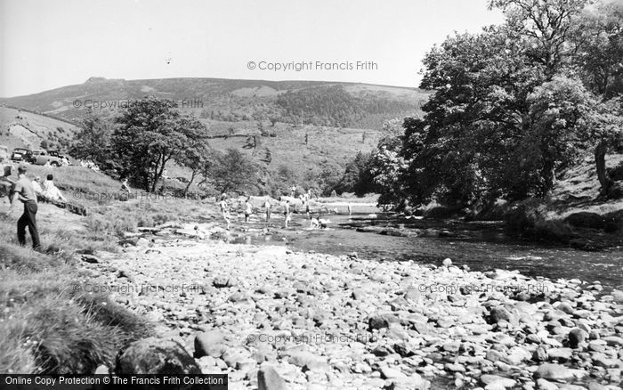 Photo of Appletreewick, River Wharfe c.1960