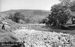 Appletreewick, River Wharfe c.1960