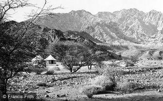 Aqabah, Encampment under Shittim Trees, Wady El Ithm c1867