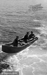 Aran Islands, A Curragh c.1950