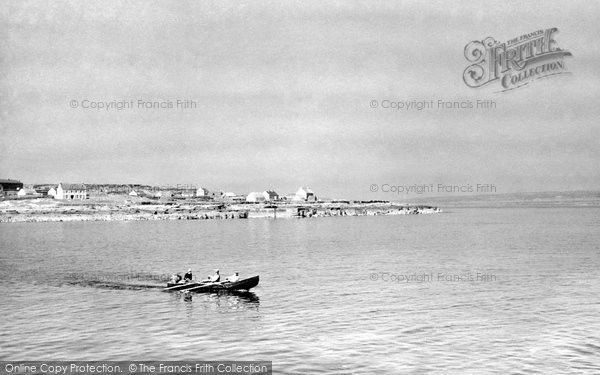 Photo of Aran Islands, A Curragh Off Inisheer c.1950