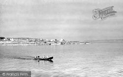 Aran Islands, A Curragh Off Inisheer c.1950