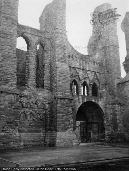 Arbroath, Abbey 1950