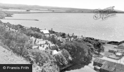 Ardersier, Looking West From Cromal Hill c.1939