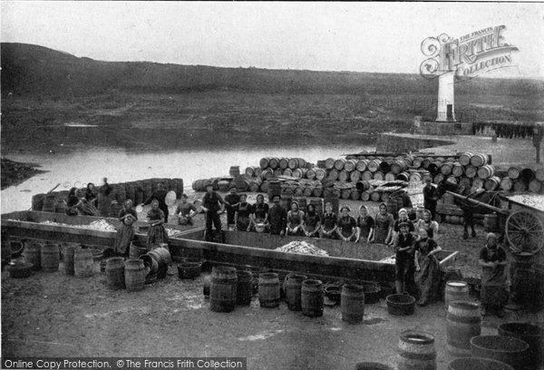 Photo of Ardglass, Fish Curing c.1900