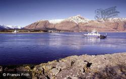 Ferry Across Corran Narrows, Loch Linnhe 1986, Ardgour